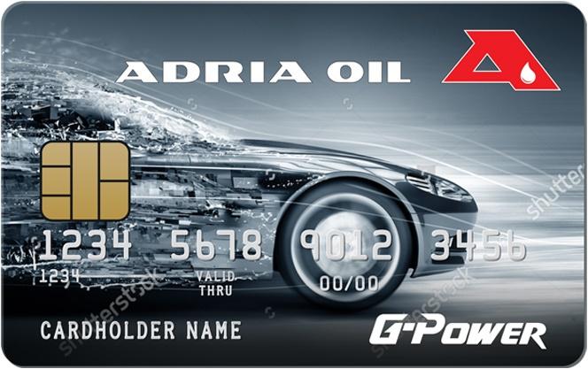 Kartice pogodnosti - Adria OIL kartica