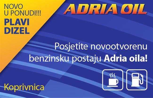 Posjetite novootvorenu benzinsku postaju Adria Oila u Koprivnici!